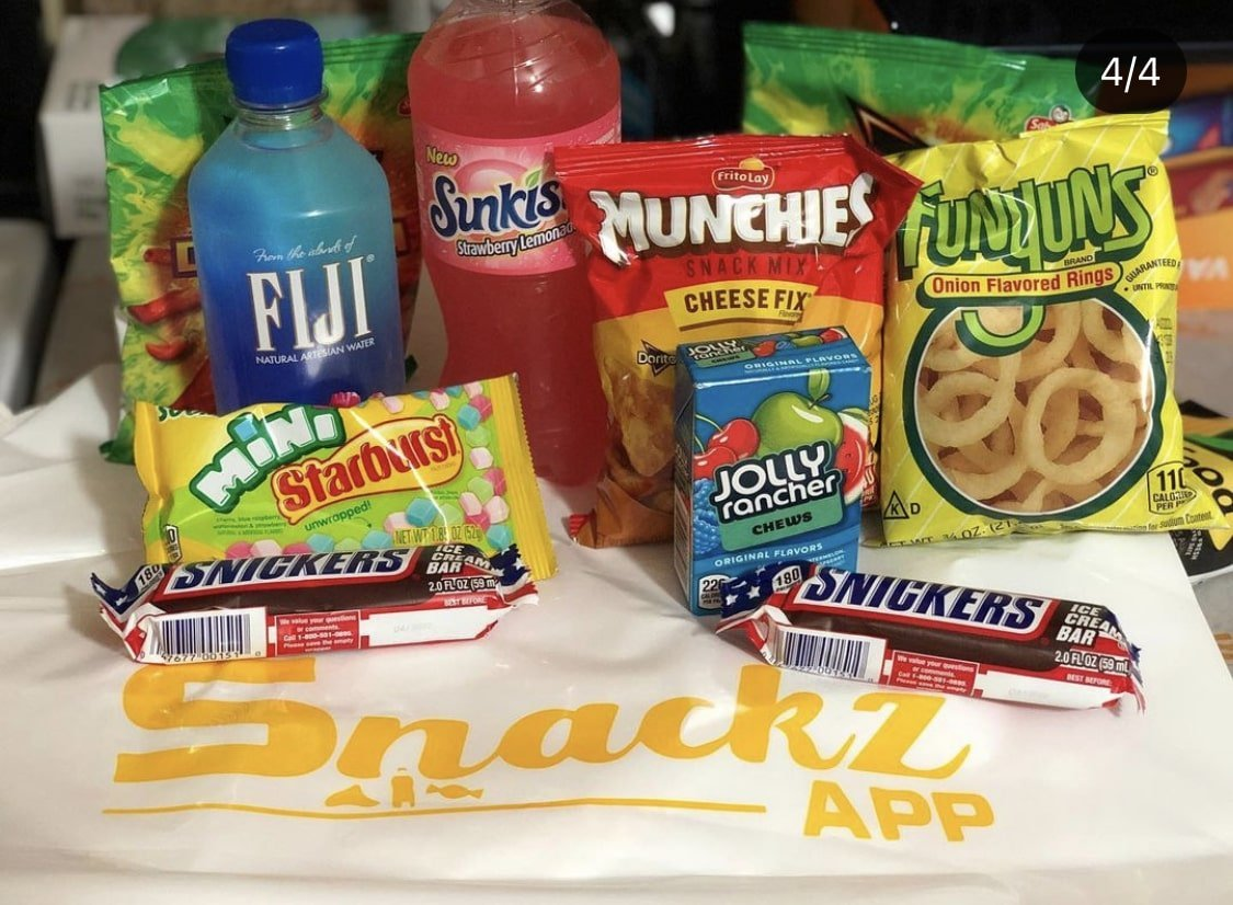 Top 5 Snacks Delivery Service In Philadelphia That Will Deliver To Your Door.